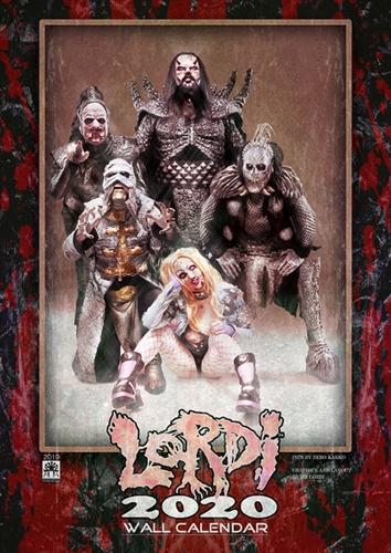 Lordi - Kalender 2020