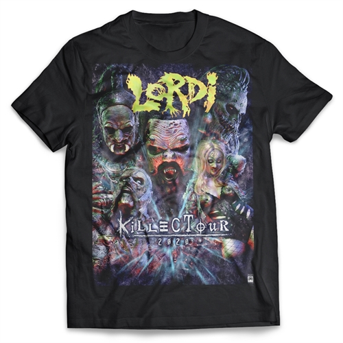Lordi - Killectour Tour 2020, T-Shirt