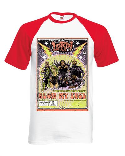 Lordi - 70er Jahre Baseball, T-Shirt