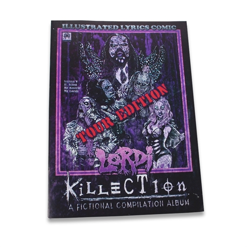 Lordi - Tour Edition, Comic