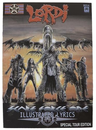 Lordi - Scare Force One, Comic