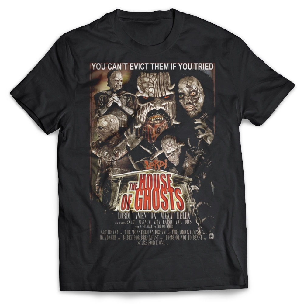 Lordi - House of Ghosts, T-Shirt